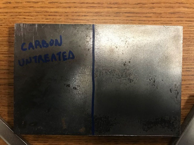 Carbon Steel Untreated Initial Exposure